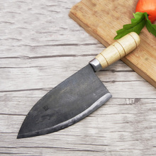 Liang Da Forged Clamp Steel Kitchen Household Multifunctional Vegetable Knife Handmade Professional Slicing Cleaver