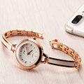 Lemado Женщин роскошных Часов Моды Случайные кварцевые часы Леди прочный женщин наручные часы Платье часы PC21S красивый