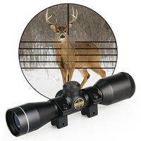Canis Latrans Tactical 4x32 Scope Hunting Rifle Scope For Shooting With Mount OS1 0255