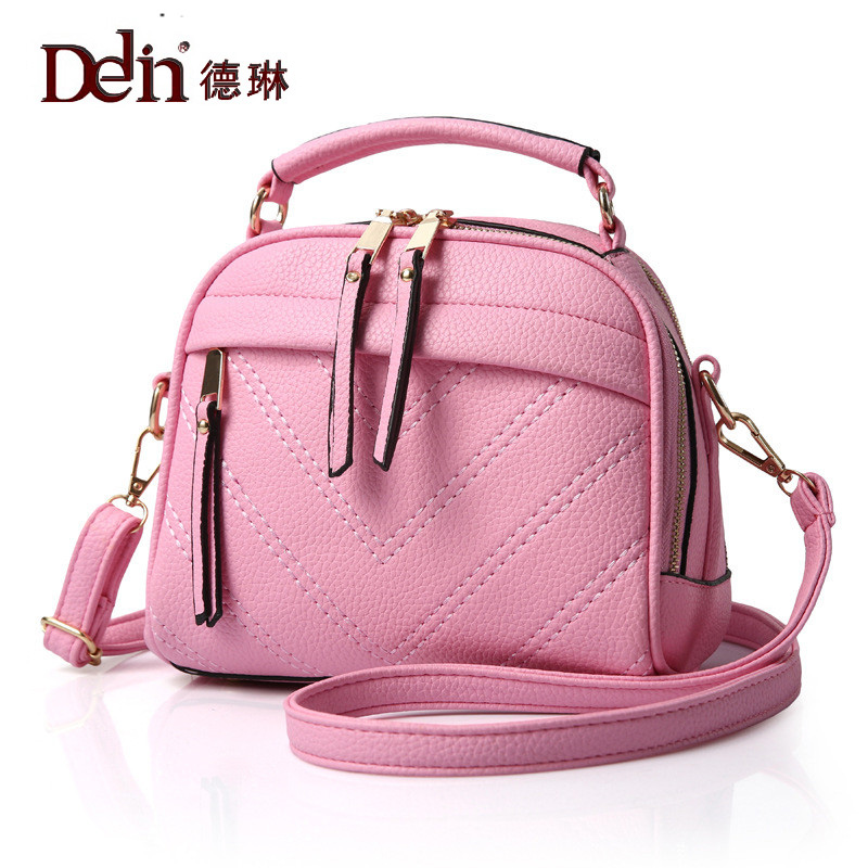 DELIN In the spring of 2017 new European fashion leisure ladies portable solid diagonal PU handbag factory direct nathaniel copsey tim haughton the jcms annual review of the european union in 2014