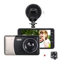 KKMOON 4 Dual Lens Car DVR Camera Recorder Dash Cam Camcorder Full HG 1080p LED Night