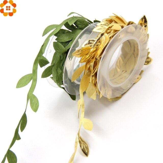 2m diy artificial leaf garland silk flower leaves flower garlands 2m diy artificial leaf garland silk flower leaves flower garlands handmade crafts scrapbooking homewedding mightylinksfo