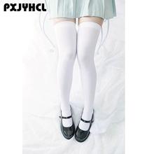 Сексуальные модные женские носки до бедра чулки колена длинные