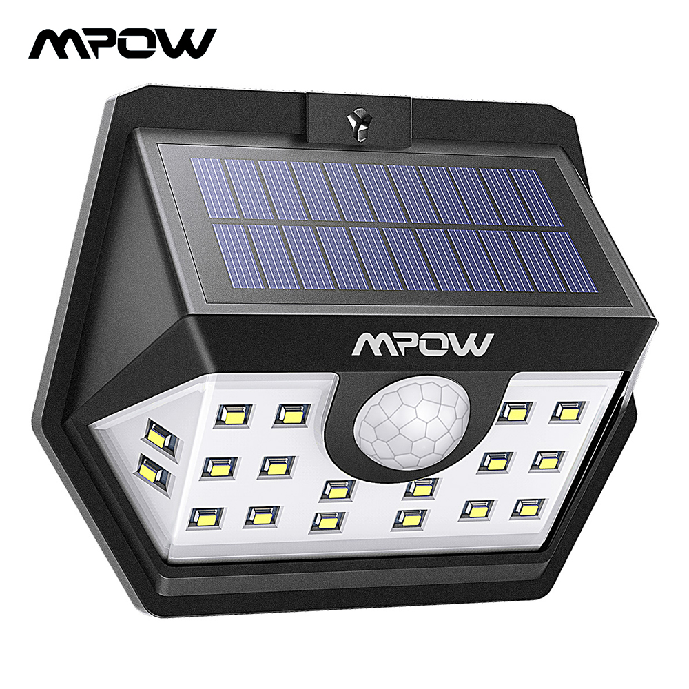 30 LED Solar Powered Security Light Motion Sensor Super Bright Security Lamp UK