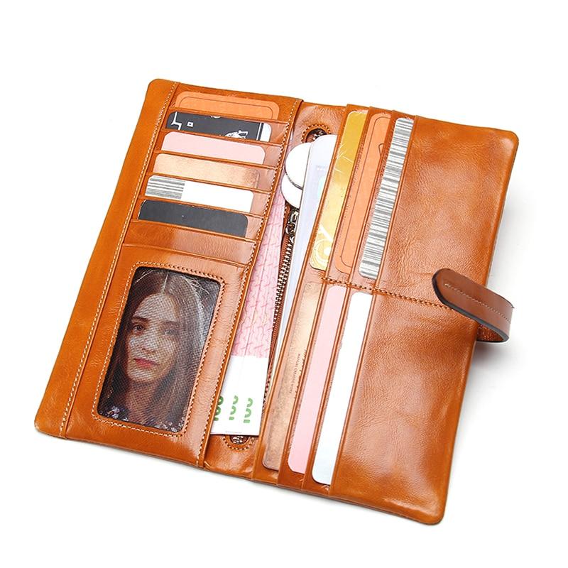 de moda carteira de couro Composição : Cowhide Leather