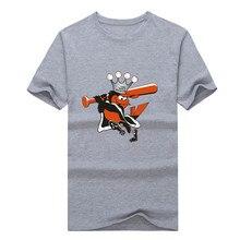 2016 Men's Tops Tees popular new cotton 1966 world champion Orioles Logo t shirt men design mens shirt