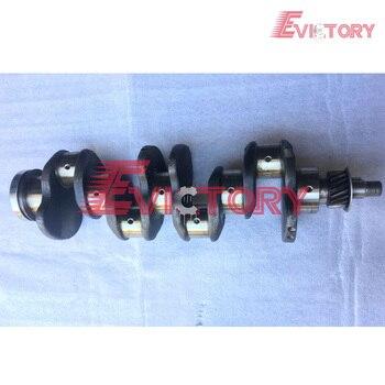 For Mitsubishi engine forklift loader S4E2 crankshaft forging steel