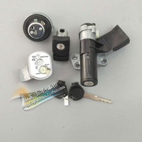 Genuine Motorcycle Ignition Switch Fuel Lock Set for HONDA LEAD 110 NHX110 2008 2015 Original Parts