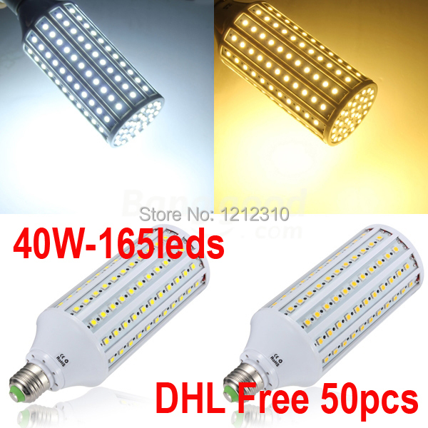 Competitive price 40W led light E40 B22 E27 LED Corn Light LED Bulb Light AC110V/220V, Warm White/Cold White DHL Free