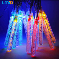 16ft 4 8M 20leds Ice Piton Shape LED Fairy Lights Christmas Xmas Party Decorations Waterproof Outdoor