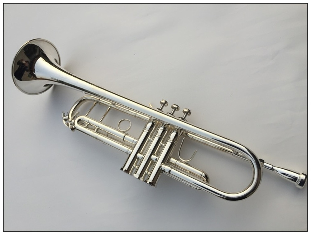 buy new sale professional tr 700 bb trumpet bb silver plated bronze yellow. Black Bedroom Furniture Sets. Home Design Ideas