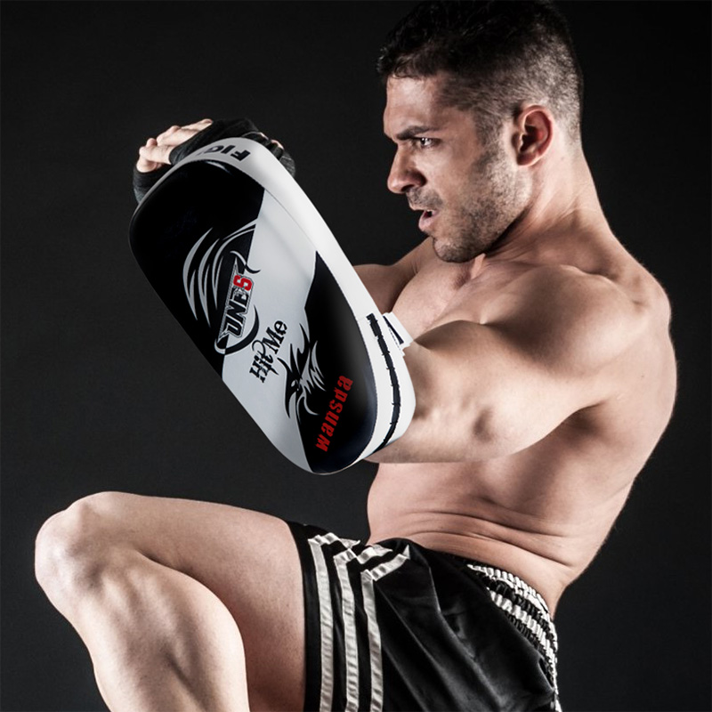 Boxing Training Mitt Foot Target Focusing Punch Pad Glove MMA Karate Muay Thai Kick Sanda Pads