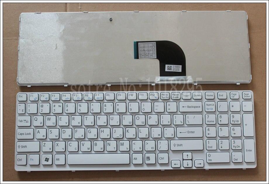 NEW FOR sony vaio SVE1512Q1EW SVE1512Q1E SVE151J11M SVE1512Q1EW SCW151D11M SVE1511V1EW witte Russian RU Laptop Keyboard