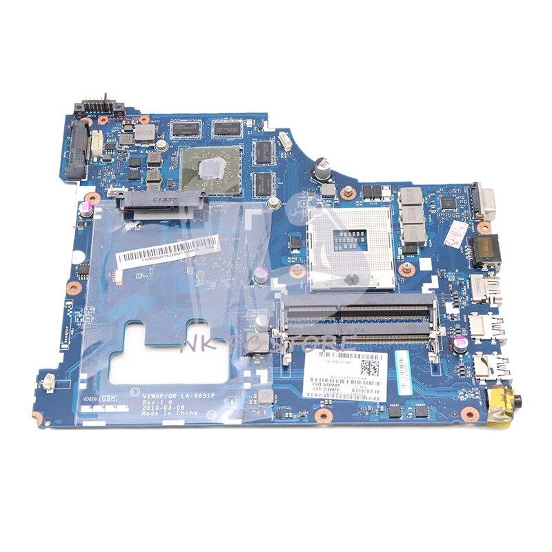 NOKOTION VIWGP GR LA-9631P pour lenovo ideapad G500 15.6 pouces ordinateur portable carte mère SLJ8C HM76 DDR3 Radeon HD 8750 M 2G