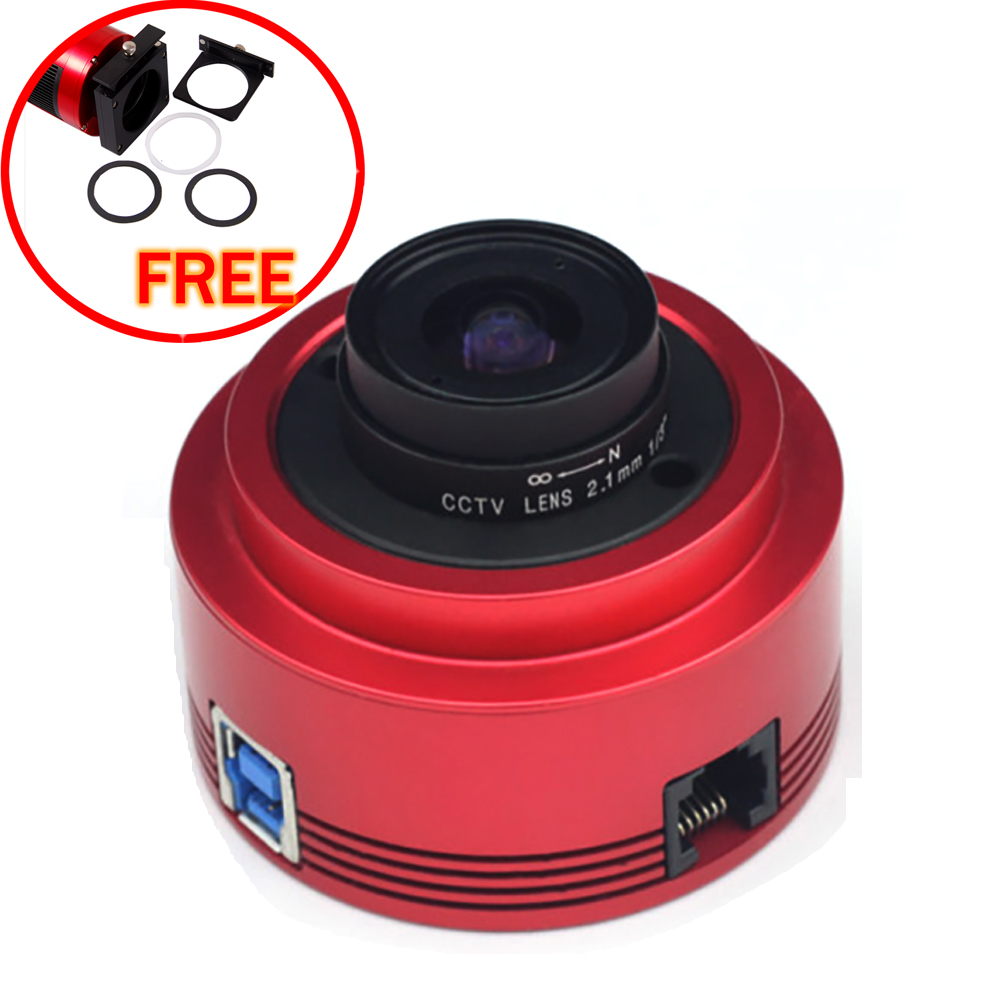 ZWO ASI-290MM (MONO) USB 3.0 astronomy camera with free a set of 2  filter drawer an atlas of astronomy