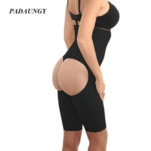 PADAUNGY Butt Booty Panties Hot Shapers High Waist Belly Slimming Sheath Waist Trainer Butt Lifter Control Panties Butt Enhancer