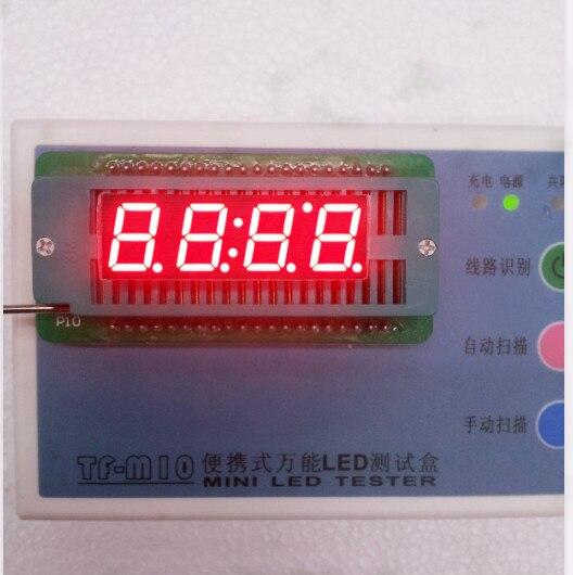 Общий анод/общий катод 0.39 дюймов цифровые часы трубки 4 биты цифровой пробки светодиодным дисплеем 0.39 дюйма красный цифровой трубки 16 конта... ...
