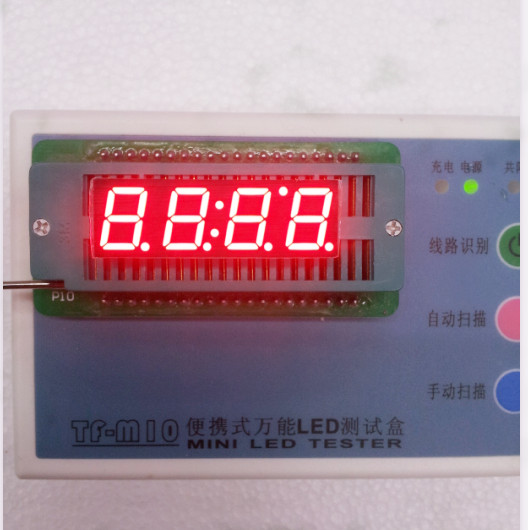 Common Anode/ Common Cathode 0.39 Inch Digital Tube Clock 4 Bits Digital Tube Led Display 0.39inches Red Digital Tube 16pins