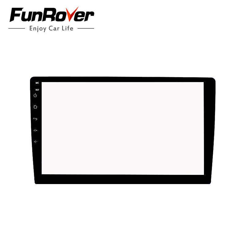 Funrover 10.1 Inci Film Pelindung Anti Gores untuk 2 DIN Mobil Radio Tape Recorder Stereo Gps Navigasi Penuh Layar Sentuh