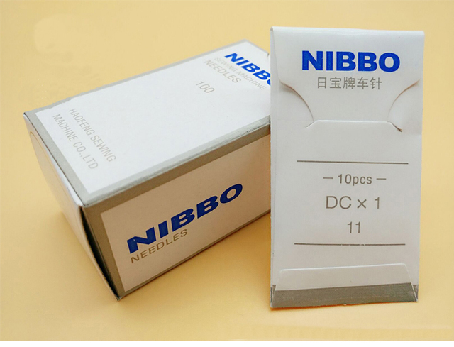 DCx40NIBBO Brand NeedlesIndustrial Overlock Sewing Machine Needles Unique Sewing Machine Needle Brands