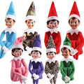 Hot Sell The Elf On The Shelf doll Christmas Elf On The Shelf Tradition 37cm Plush Toys Doll Children for Christmas gift m368