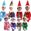 Venta caliente El Elfo En La Plataforma muñeca Duende de la Navidad En Tradición de la Plataforma 37 cm Juguetes de Peluche Muñeca de Los Niños para el regalo De Navidad m368