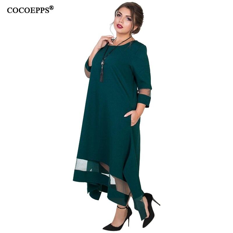 A Line 5xl 6xl Plus Size Winter Dress Mesh Elegant Women Dress Large Size Long Maxi Dress Evening Party Big Size vestidos 19 4
