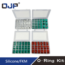 Silicone/Rubbe Ring Green FKM O 30Size ring Seal Rubber Sealing O-ring Washer Gasket O-Ring Set Assortment Kit Box