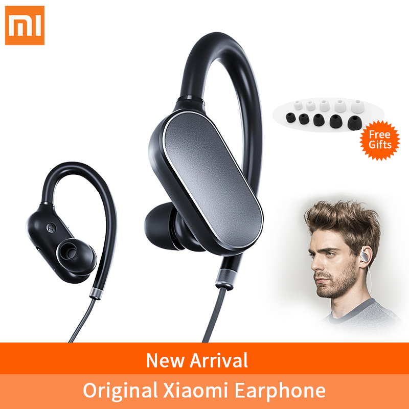 Xiaomi Mi Sport Bluetooth earphone with Microphone Wireless Bluetooth 4.1 Music Sport Earbuds Waterproof Sweatproof Headphones askmeer 8gb mp3 music player headsets wireless bluetooth sport earphone sweatproof earbuds headset with microphone handsfree