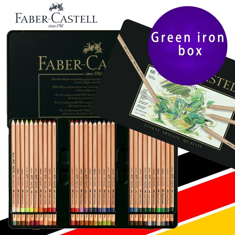 Faber Castell 60 Colored Pencils Art Lapis De Cor Professionals Artist Painting Oil Color Pencil For Drawing Sketch Art Supplies faber orizzonte eg8 x a 60 active