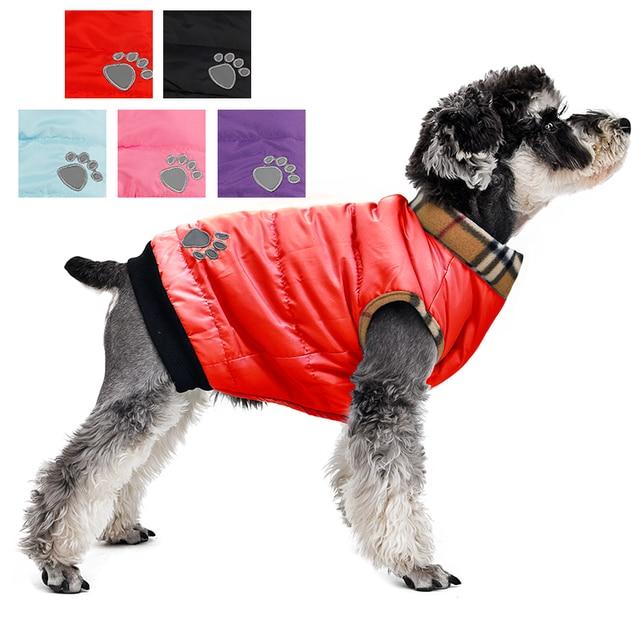 Commercio all'ingrosso! Vestiti Del Cane di Inverno Caldo Imbottito di Spessore
