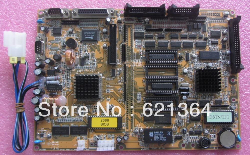 Techmation 2386 Motherboard for industrial use new and original 100% tested ok ...
