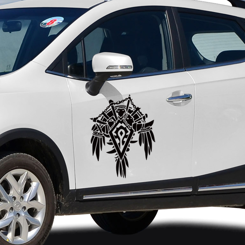 COOL WOW logo design die cut sticker,fashion car door decor stickers and decals styling cover ,DIY clear film sticker