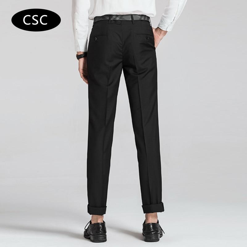 Erkek Gelinlik Suit Pantolon erkekler için 2018 moda Slim fit Parti - Erkek Giyim - Fotoğraf 5