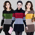 2016 Women Sweater Dress Fashion Knit Long Pullovers Vestidos Sweater Sexy Bodycon Dress High Elastic Sweater Pull Femme