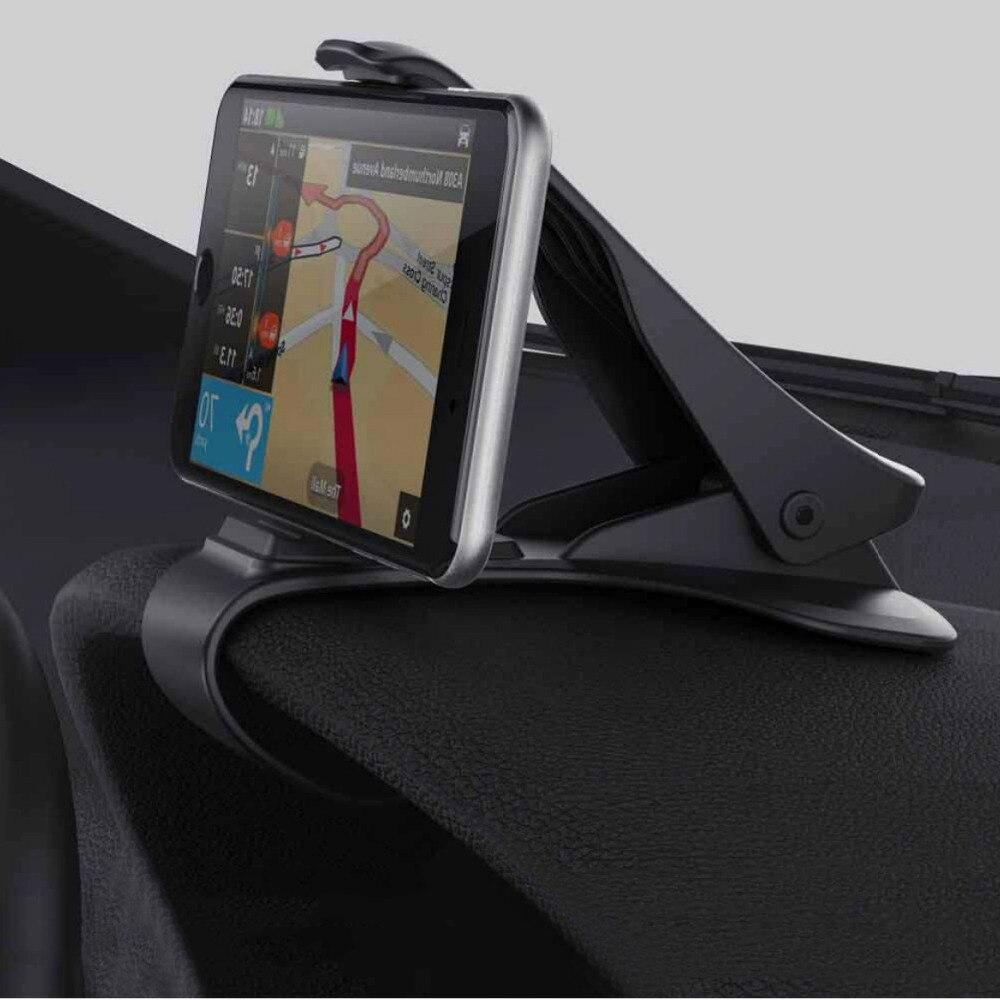 imágenes para Nuevo Diseño Sostenedor Del Teléfono Del Coche Soporte Ajustable Soporte Max 6.5 pulgadas para el gps de iphone 6 7 plus/5S samsungs7 borde s8 simulación hud