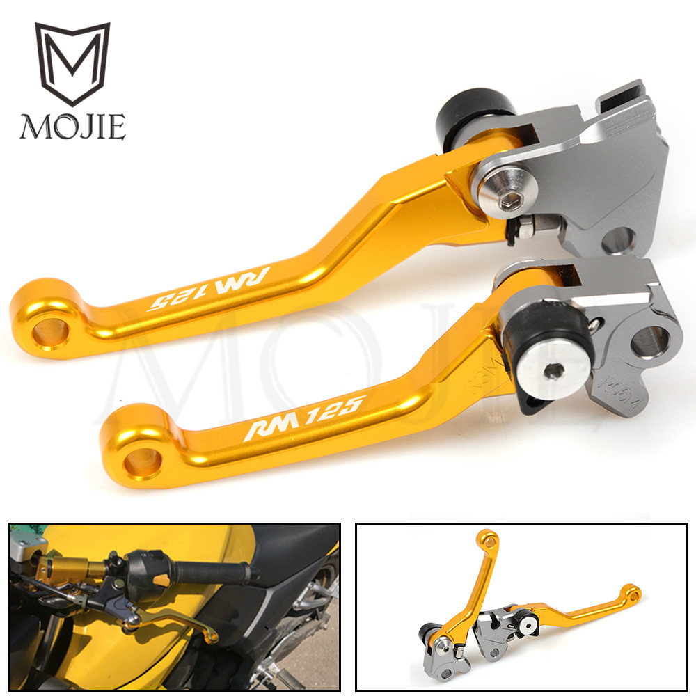 For SUZUKI RM125 RM250 RM 125 250 1996-2003 1997 1998 1999 2000 2001 2002 Motocross CNC Pivot Brake Clutch Levers Dirt Bike motorcycle leather soft anti slip seat cover for kawasaki kx125 kx250 kx 125 250 1994 1995 1996 1997 1998 motocross dirt bike