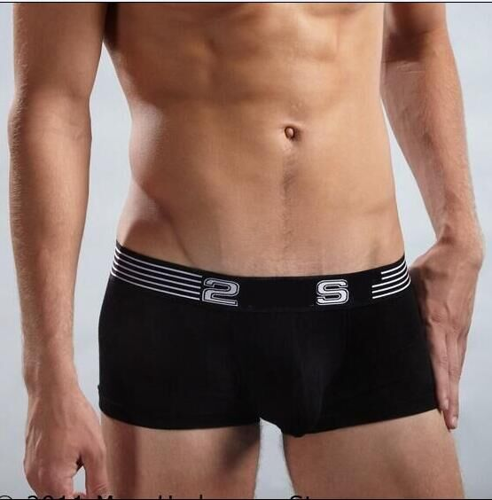 Hot  Men Boxers Shorts Male Sexy Modal Solid Comfortable Underpants Anti Bacterial Breathable Underwear Boxers Wholesale