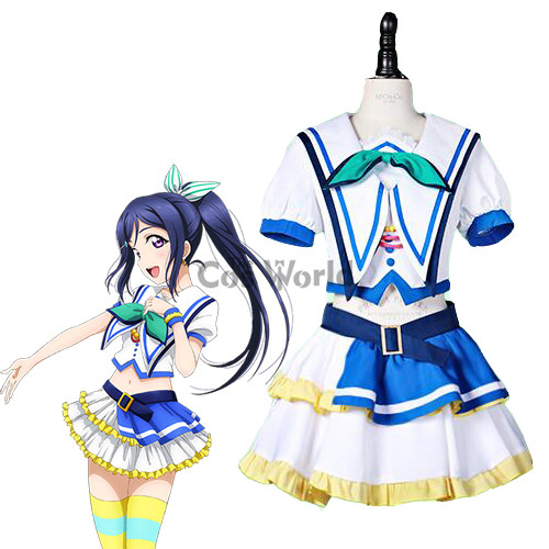 LoveLive!Sunshine!! Jumping Heart Matsuura kanan Sailor Suit Uniform Dress Outfit Anime Cosplay Costumes