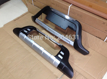 High quality front +rear bumper protector bumper guard for 2013-2014 Livina Hatchback Fast air free ship