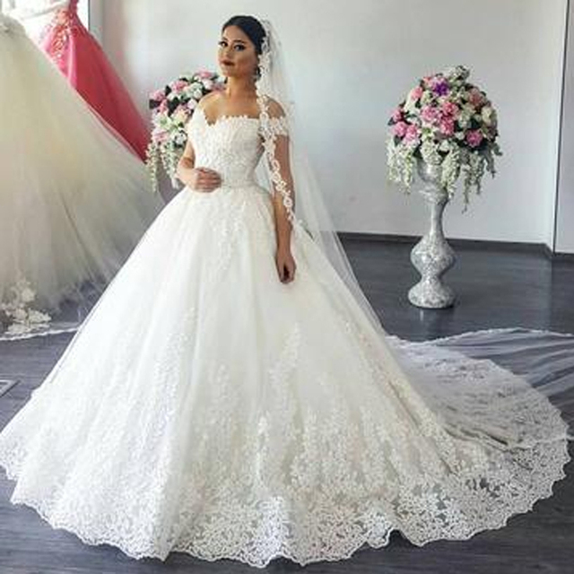 vestidos de novia 2019 vestido de noiva ball gown plus size off the