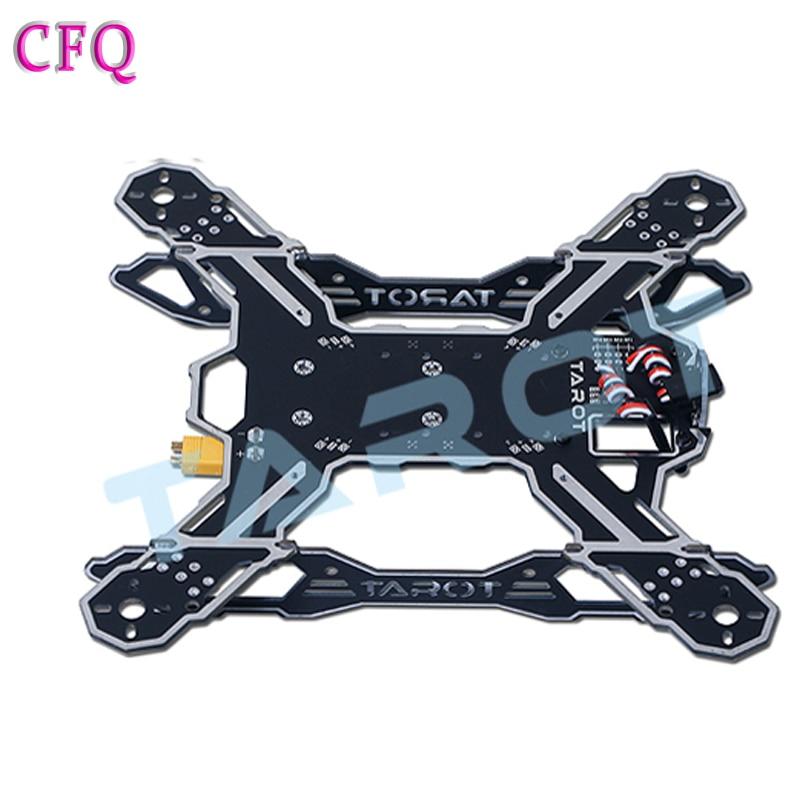 (CFQ)quad frame Tarot mini drone FPV 200 Quadrocopter Frame Drone Professional Drones kit Quadcopter Frame Kit Multicopter