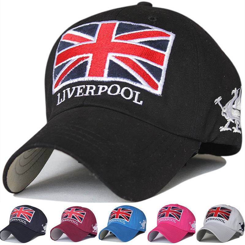 New Fashion Liverpool Warm Snapback Hat Unisex Gorras Baseball Cap Snap Backs With England Flag For Autumn Winter casquette polo unisex women warm winter baggy beanie knit crochet oversized hat slouch hot cap y107