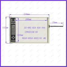 ZhiYuSun POST 9.4 inch four wire resistive Touch Screen 216*142 for industry applications N010-0554-X022/01 CP032136-03