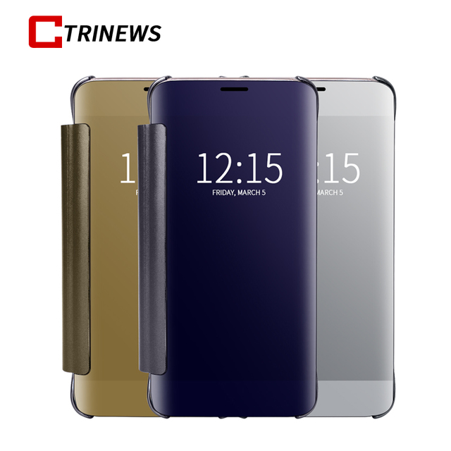 Mirror Case For Samsung Galaxy S9 S9 Plus Note 8 Smart