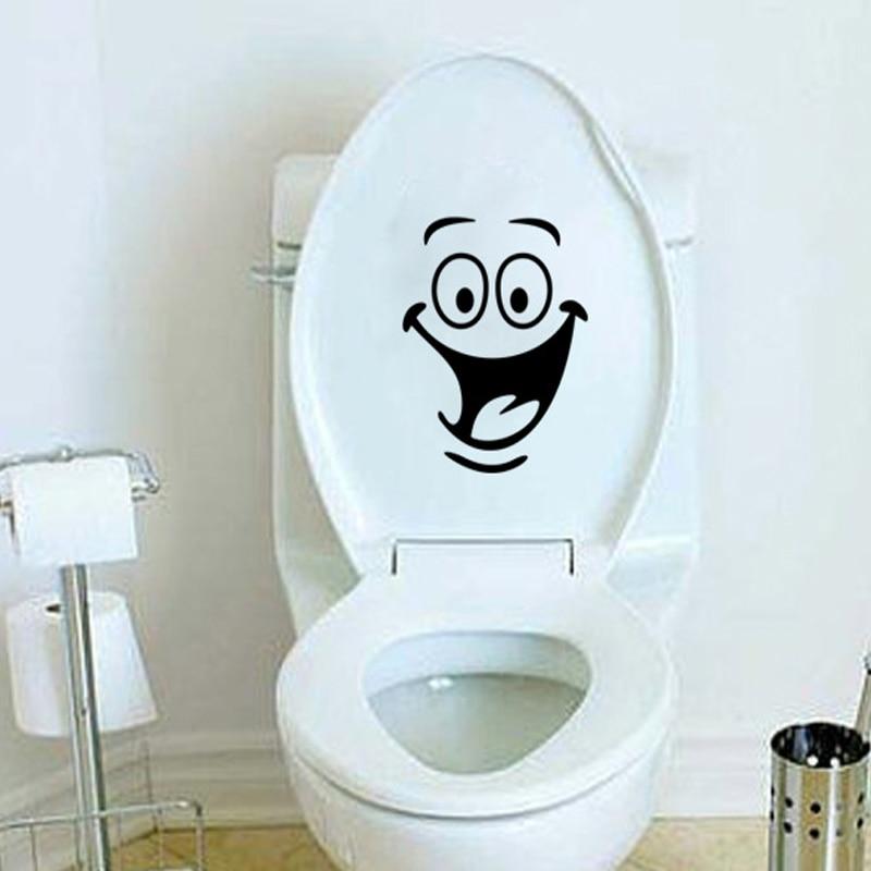 Crianças Quarto Adesivo De Parede Banheiro Banheiro À Prova D 'Água Decorativo Adesivos de Parede de Vinil Assento Do Toalete Decalque Da Parede Murais Adesivos De Parede
