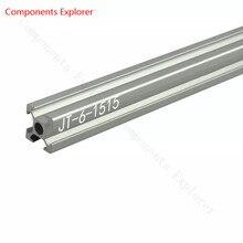 Произвольная резка 1000 мм 1515 алюминиевый экструзионный профиль, серебристого цвета
