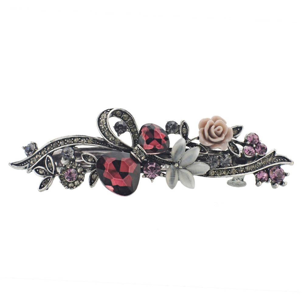 Dalaful Opals Resin Bunga Jepit Rambut Jepit Rambut Ikatan Simpul - Perhiasan fashion - Foto 2