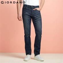 Джордано Мужчины джинсы повседневные джинсовые штаны классические потертости прямые джинсы masculina мужской джинсовые брюки хлопок(China (Mainland))