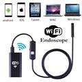 1 m 1.5 m 2 m 3.5 m 5 m Cable IOS Wifi Endoscopio 8mm lente 6 LED Impermeable IOS Android Cámara de Inspección Del Endoscopio Del Animascopio inalámbrica